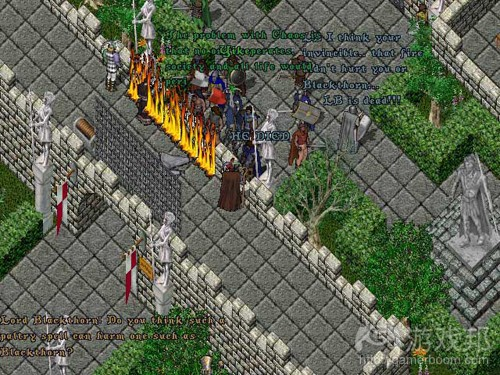 Death of Lord British in Ultima Online(from lostgarden)