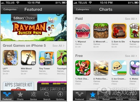 App Store(from gamezebo)