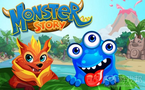 monster story(from venturebeat)