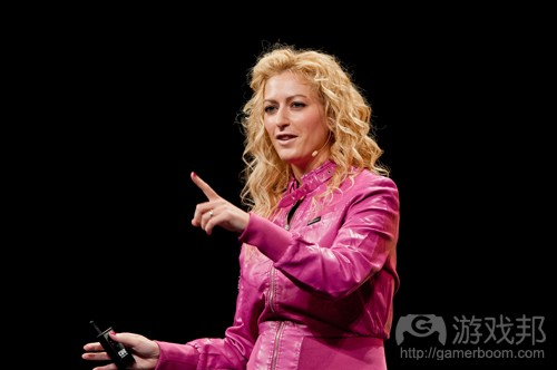 Jane McGonigal(from photos.siggraph.org)