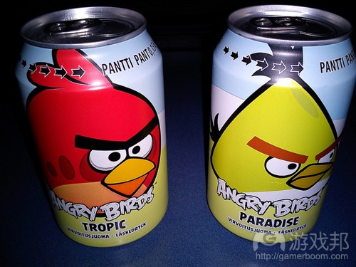 angry birds soft drink(from flickr.com)