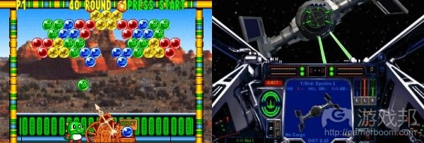 bust-a-move_vs_x-wing(from gamasutra)