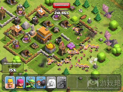 clash of clans(from blog.games.com)