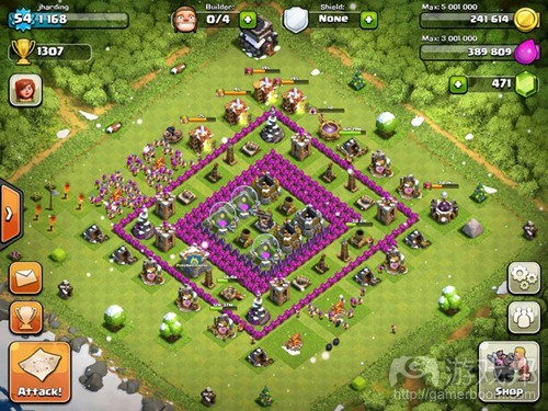 clash of clans 1(from gamasutra)