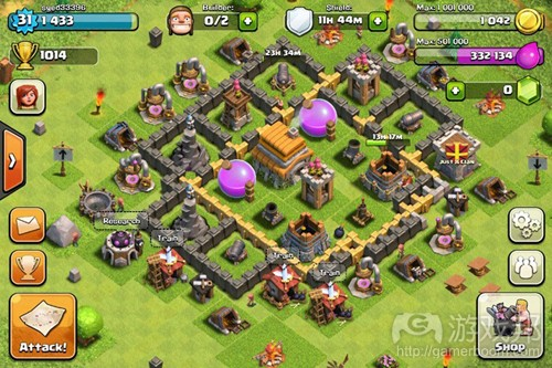 clash of clans 3(from gamasutra)