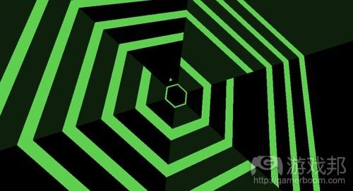 super hexagon(from gamasutra)