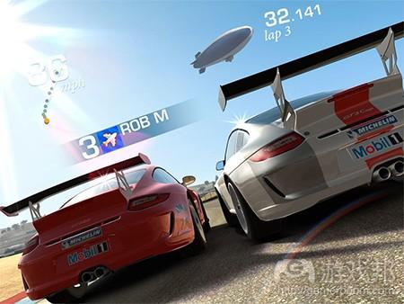 Real Racing 3(from pocketgamer)