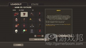 Team Fortress 2's inventory(from gamaustra)