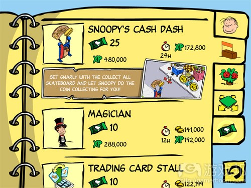 snoopy's cash dash(from snoopy-streetfair.com)