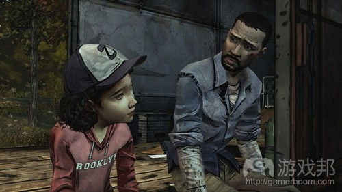 the walking dead(from gamasutra)