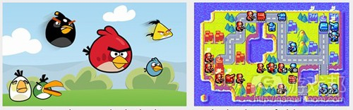 Angry Birds & Advance Wars 2(from gamasutra)