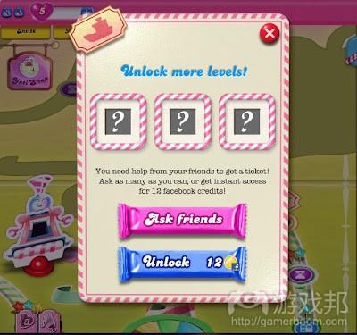 Candy Crush Saga on Facebook(from deconstructoroffun