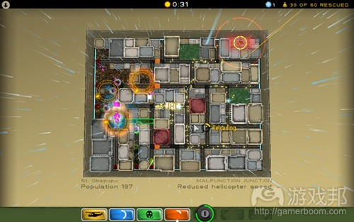 atom zombie smasher(from gamasutra)