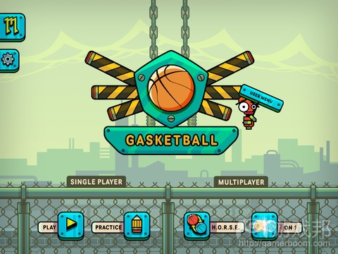 Gasketball(from itunes.apple.com)