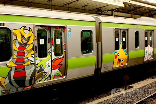 The Pokémon Train(from gamasutra) The Pokémon Train(from gamasutra)