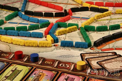 Ticket to Ride(from gameknight)
