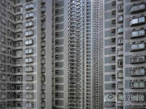 a shot from Architecture of Density(from theatlantic)