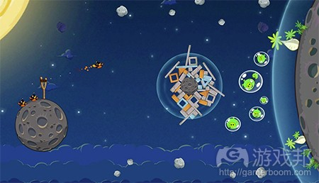 angry bird space(from pocketgamer)