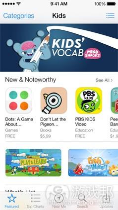 appstore_kids(from pocketgamer)