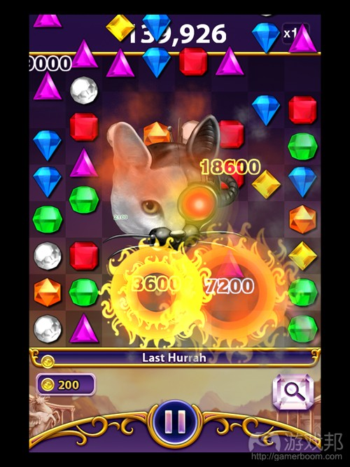 bejeweled blitz(from gameanalytics)