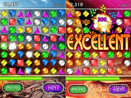 bejeweled(from pocketgamer)