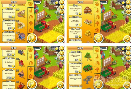 hay day(from gamasutra)