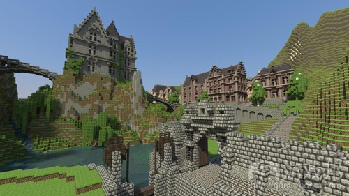 minecraft-town(from mmogames)