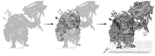 silhouette_concept_art_process(from whachootalkinboutwillis)