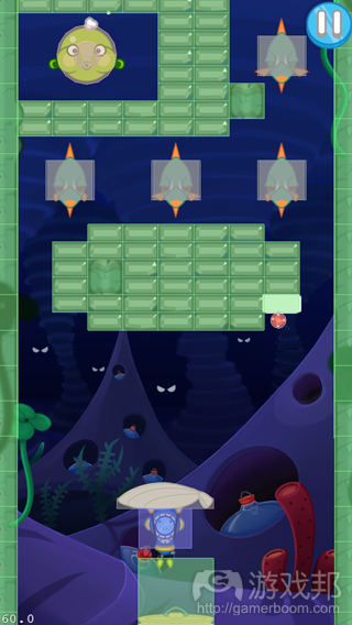 Blowfish Meets Meteor(from gamasutra)