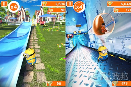 Despicable Me Minion Rush(from pocketgamer)