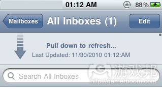 Pull To Refresh(from iphonetechie.com)