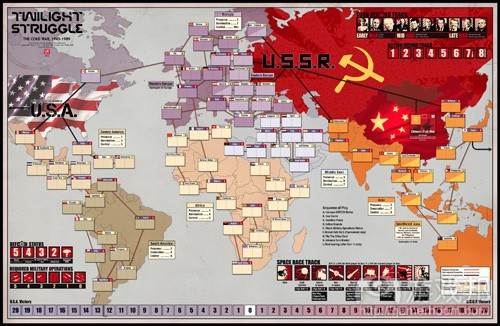 Twilight Struggle(from gmtgames.com)
