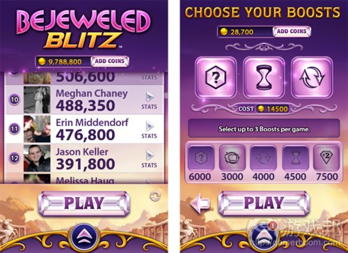 Bejeweled Blitz(from gamasutra)