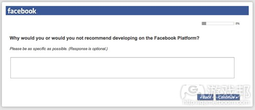 Facebook survey 2(from Facebook)