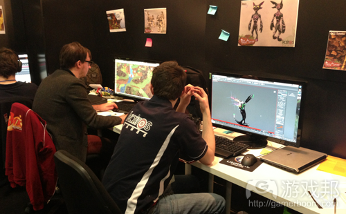game develop team(from voltmagonline)