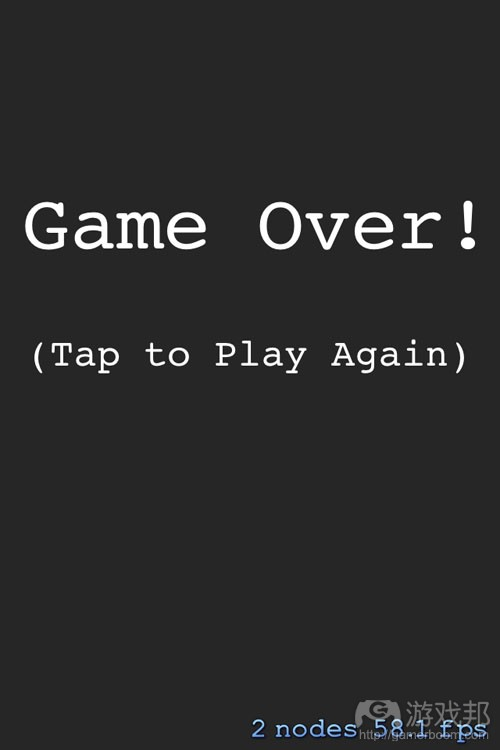 AppScreenshot_GameOver(from raywenderlich)
