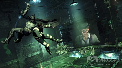 Batman Arkham City(from gamasutra)