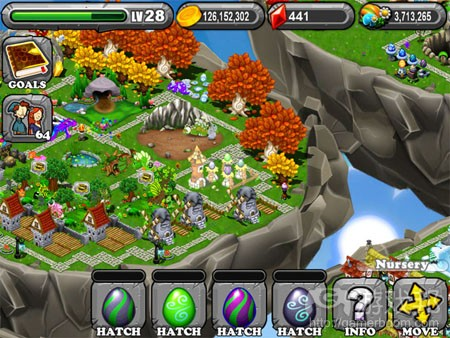 dragonvale(from pocketgamer)