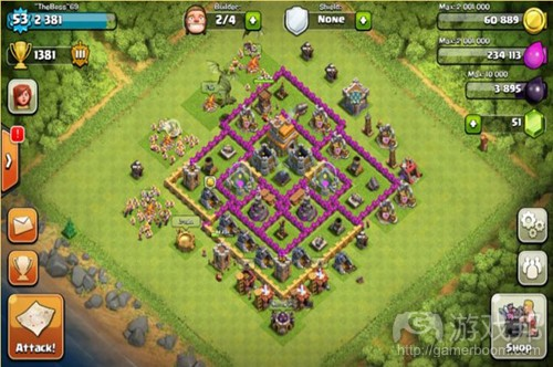 Clash of Clans(from shouyou)