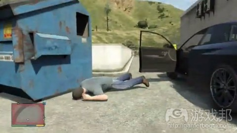 grand theft auto V(from gamedev)
