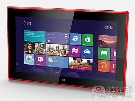 lumia 2520(from pocketgamer)