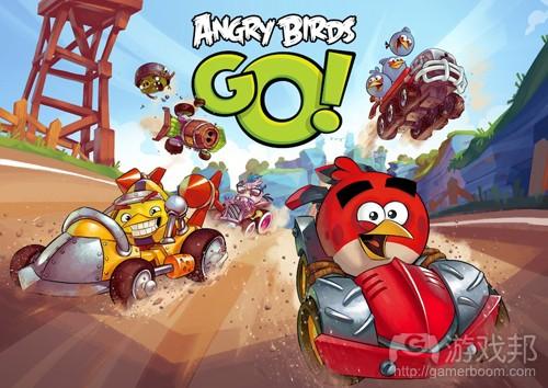 Angry Birds GO(from rovio.com)