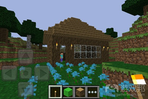 Minercraft pocket edition(from paulor.net)