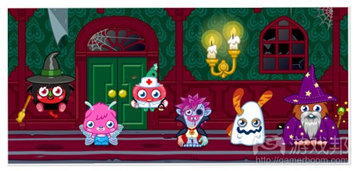 Moshi Monsters(from gamesbrief)