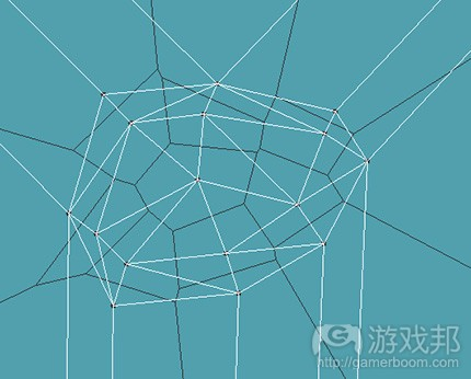 Voronoi_diagrams_for_AI-3-delaunay_triangulation(from gamedevelopment)