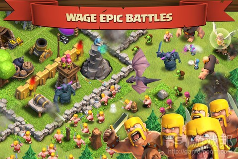 clash of clans(from modojo.com)