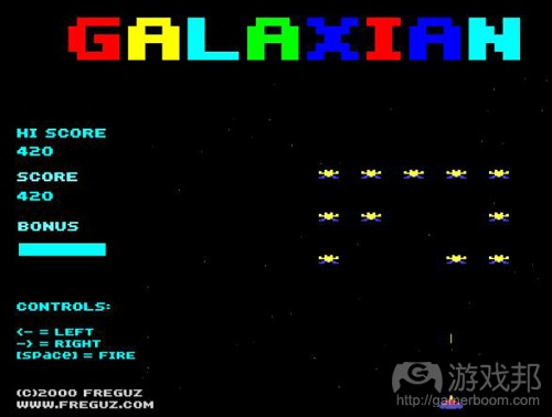 galaxian(from galeon.com)