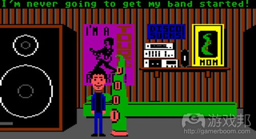 maniac mansion(from gamasutra)