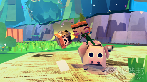Tearaway(from edge)