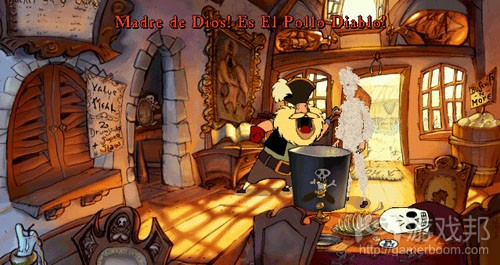 The Curse of Monkey Island(from gamasutra)